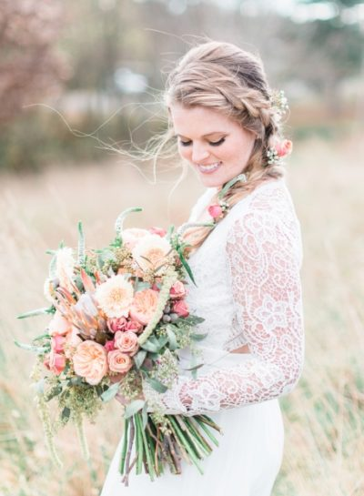 Bohemian Bridal Portraits   Styled Shoot