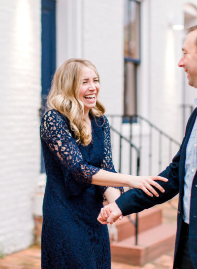 B & B | DC Engagement Photographer