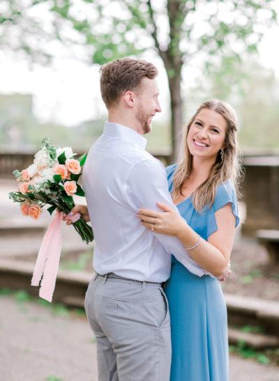 Natalya & Andrew – Meridian Hill Park Engagement Session