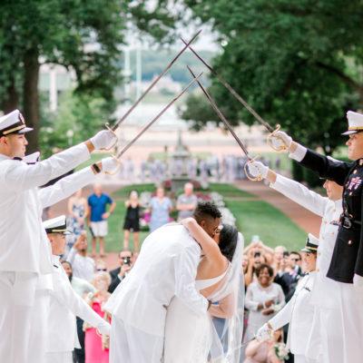 Cara & Carrington (United States Naval Academy)