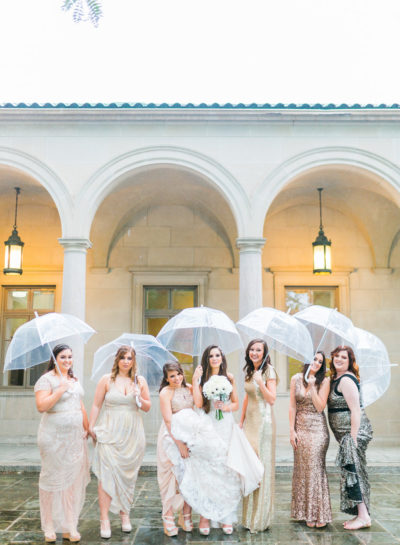 What to Do About Rain on Your Wedding Day