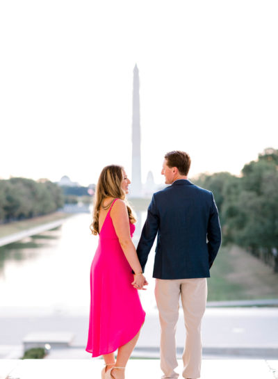 Lincoln Memorial Engagement Session | C & C