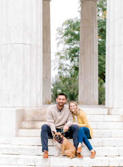 DC War Memorial Engagement Session | S & A