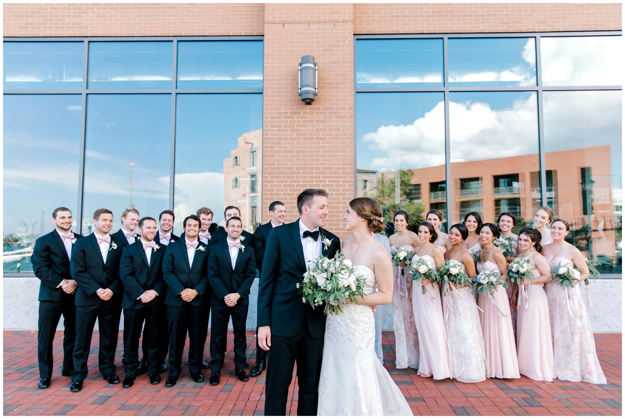 Baltimore Inner Harbor Wedding Nikki Schell Photography