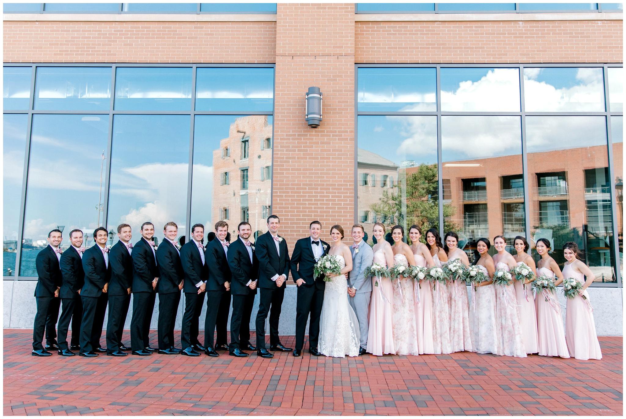Baltimore Waterfront Wedding Photography