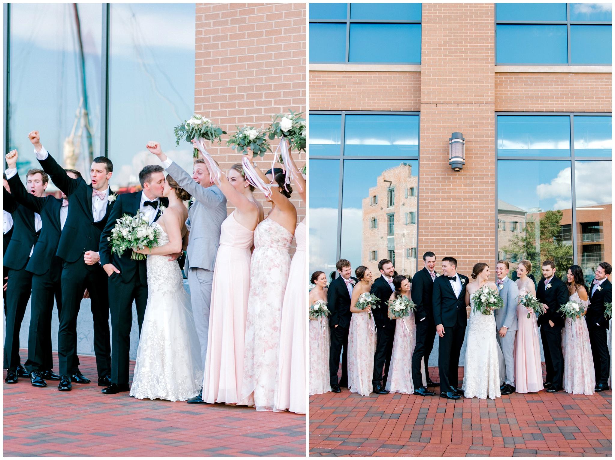 Baltimore Inner Harbor Wedding Photographer