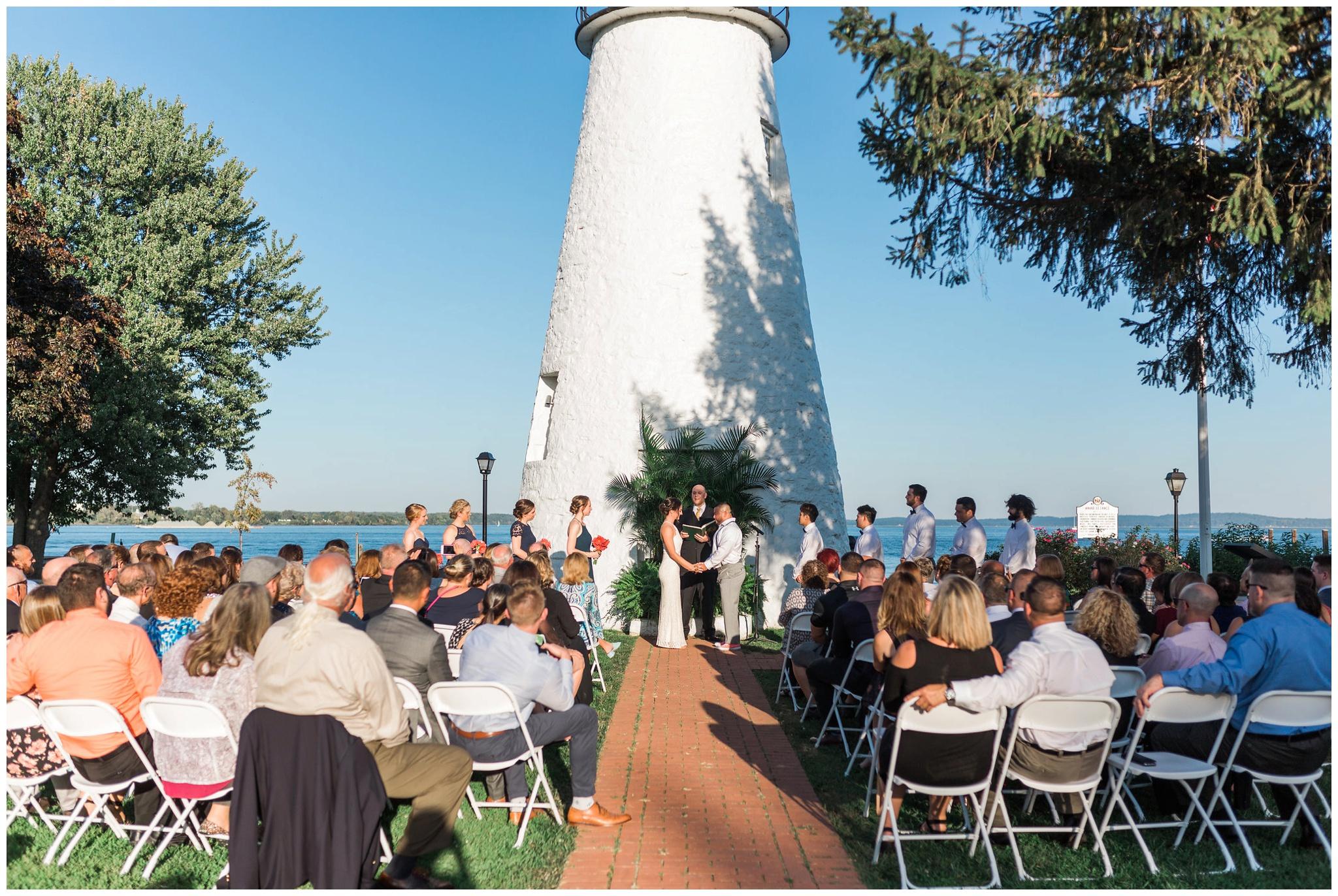 Maryland Bay Wedding