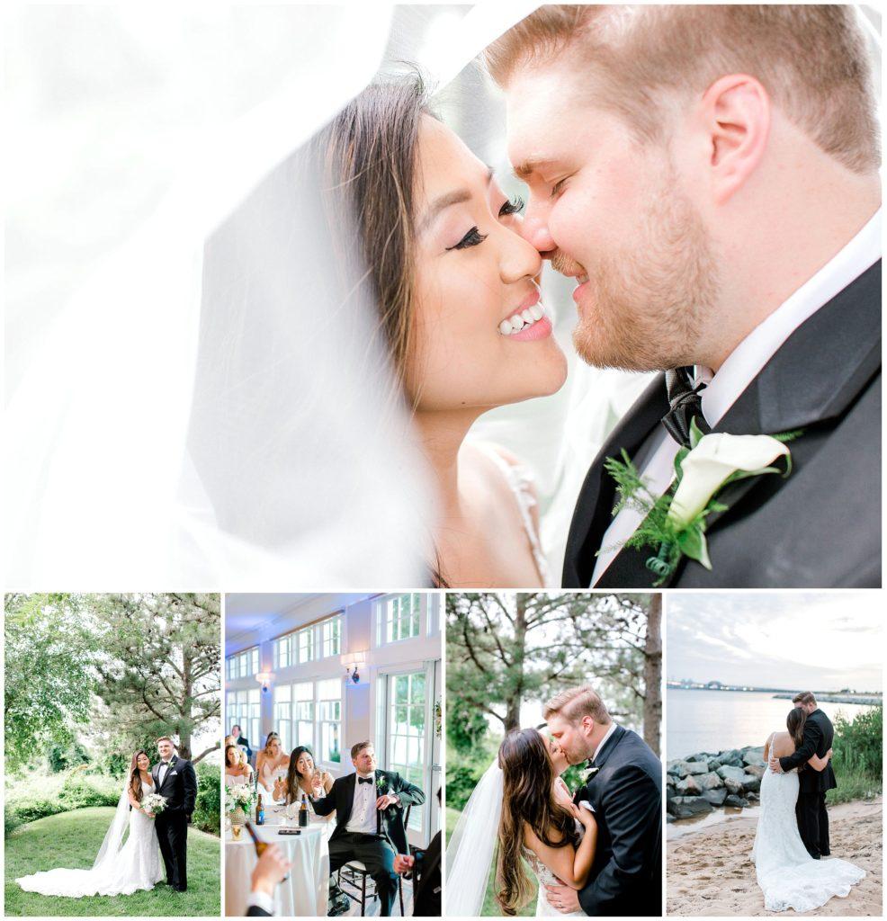 Chesapeake Bay Beach Club Wedding - Summer Wedding