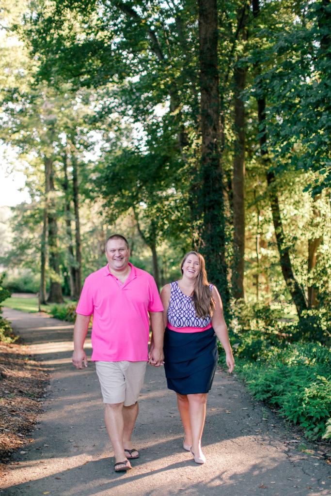 Arlington, VA Engagement Photos at Meadowlark, Engagement Session Prep Tips