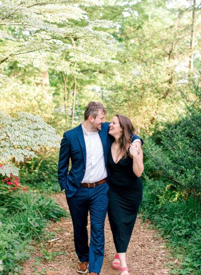 McCrillis Gardens Engagement | Kelly & Chris