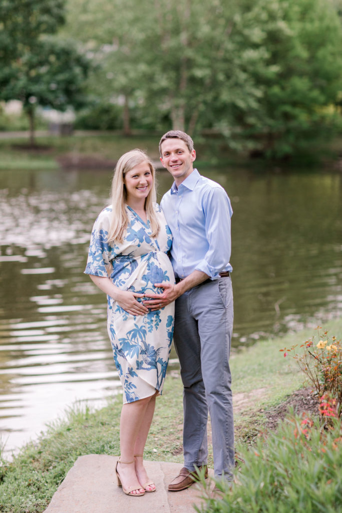 maternity session expecting couple