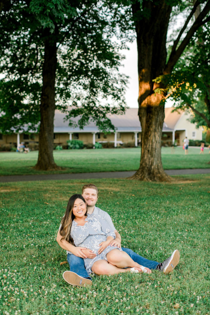 Summer Maternity Session in DC