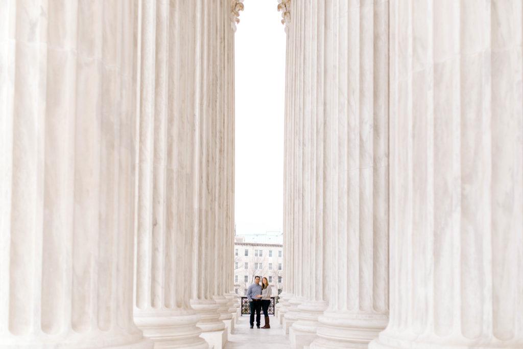 Supreme Court Engagement Photos