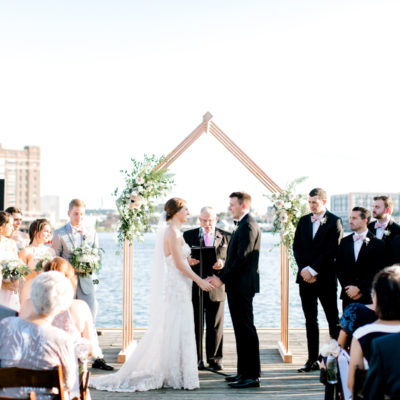 Wedding: Kait & Chris (Frederick Douglass Maritime Musuem)
