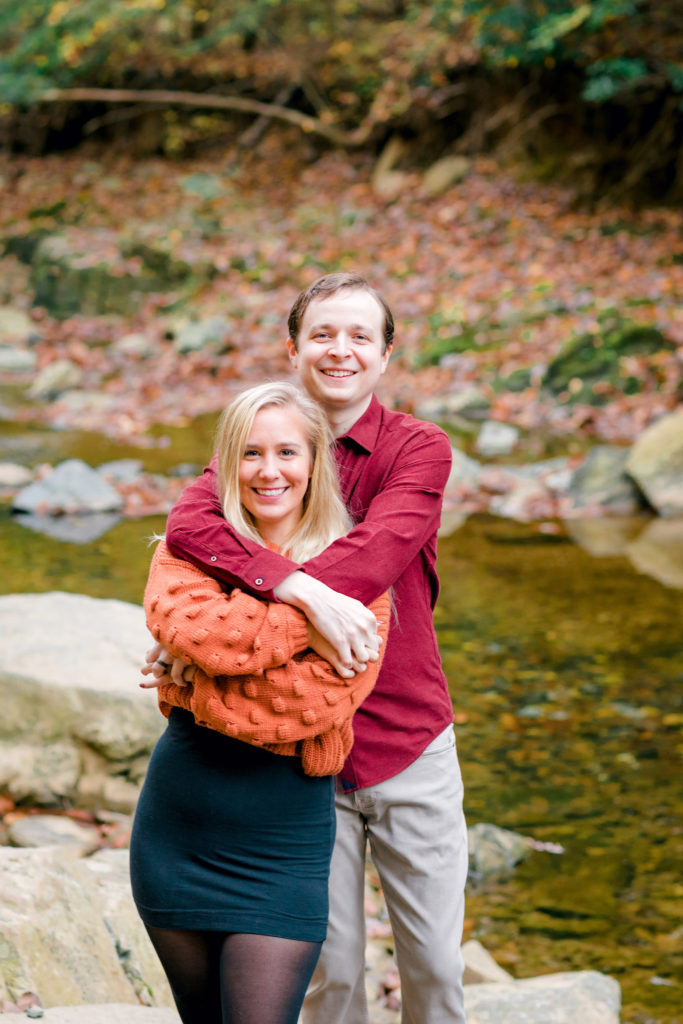 Scott's Run Nature Preserve Engagement McLean Portrait Photographer