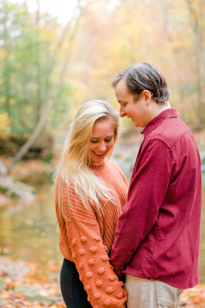 Scott's Run Nature Preserve Engagement Photography