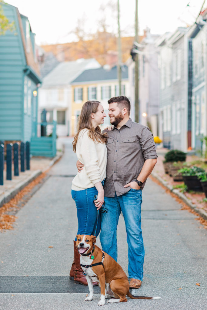 Downtown Annapolis Engagement Photography by DC Wedding Photographer Nikki Schell