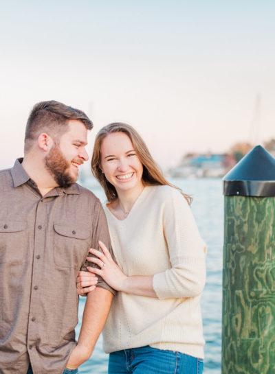 Downtown Annapolis Engagement | J&H