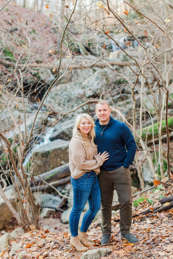Patapsco Valley Engagement Photography