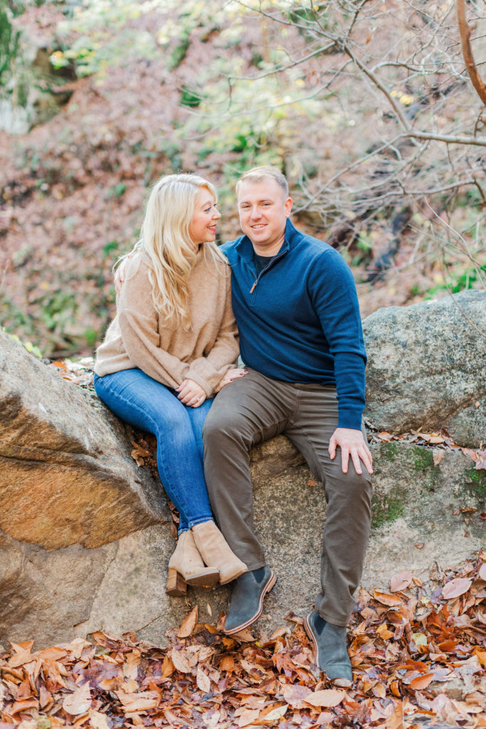 Patapsco Valley Engagement Photographer