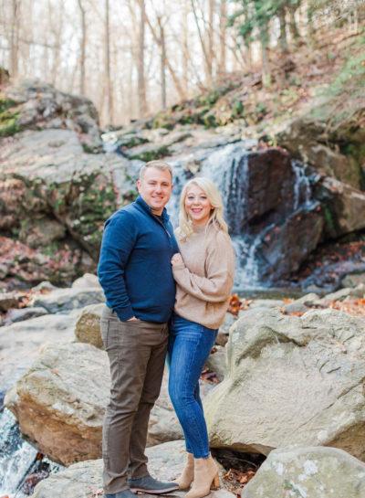 Rachel + Dan | Patapsco Valley Engagement Session
