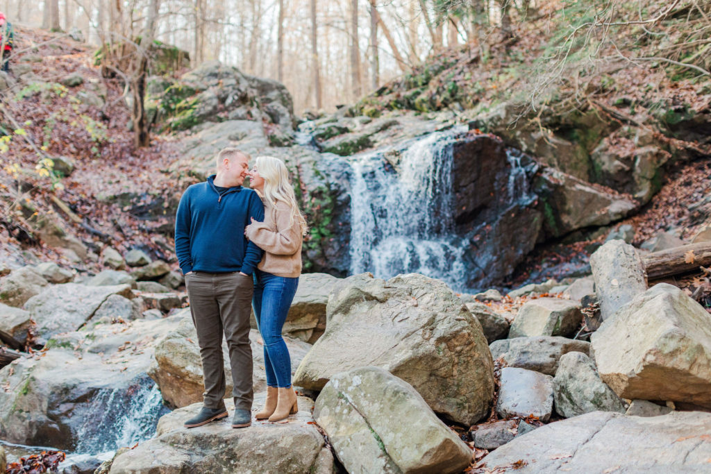 Patapsco Valley State Park Engagement Photographer