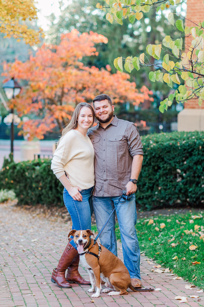 Annapolis Statehouse Engagement Photography by DC Wedding Photographer Nikki Schell
